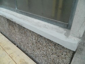 Concrete repaired using lightweight Belzona 4141 (Magma-Build)